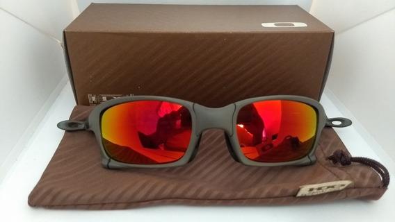 Oculos Oakley Xsquared Xmetal Lentes Ruby Polarizadas