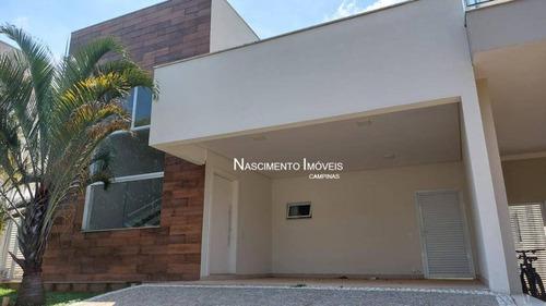 Casa Com 3 Suítes À Venda, 225 M² Por R$ 1.198.000 - Betel - Paulínia/sp - Ca0231