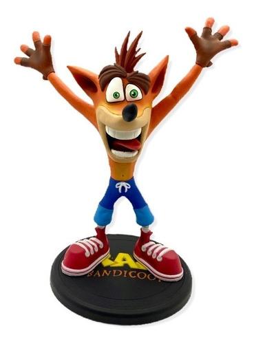 Crash Bandicoot: Figura De Colección 22x20cm