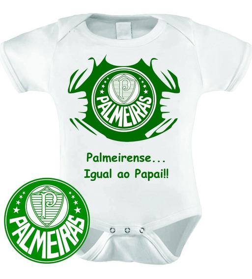 Body Infantil Personalizado Camisa Do Palmeiras!