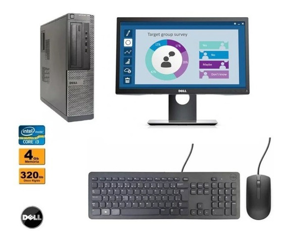 Computador Dell Optiplex 390 Core I3 4gb Ram Hd 320gb