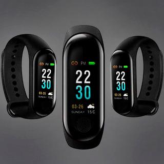 Pulseira Relógio Smartband Android Bluetooth Corrida Fitness