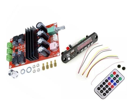 (2kits )amplificador 200wrms+módulo Usb/bluetooth/fm