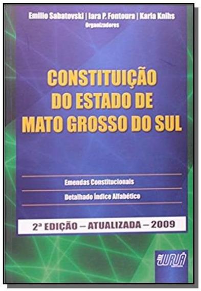 Constituicao Do Estado De Mato Grosso Do Sul