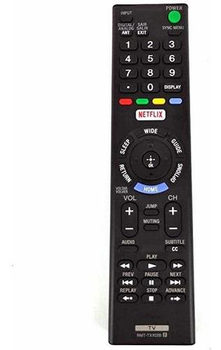 Control Remoto Rmt-tx102d Led P/ Sony Bravia Netflix Smart