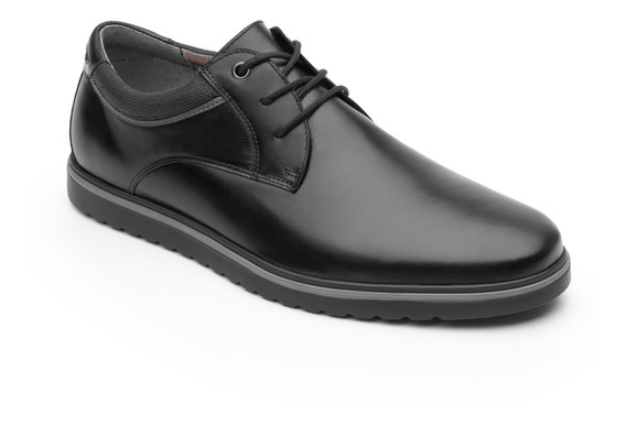 Zapato Casual Urbano Flexi Caballero 402301 Negro