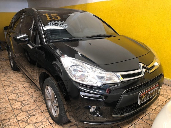C3 Attraction 1.5 Flex, Completo, 2015, Preto