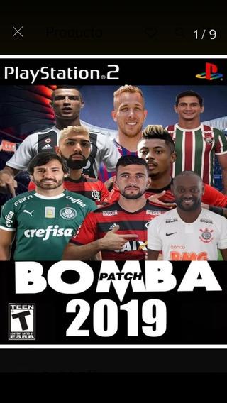 Patch Bomba Patch 2019 Ps2 Atualizado Brasileirão 2019