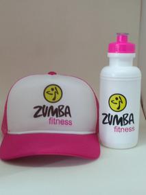 Boné Trucker Zumba Fitness Brinde Squeeze 500 Ml