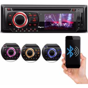 Dvd P/ Carro Cd Mp3 Usb Sd Bluetooth Rádio Entrada P/ Camera