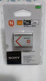 Bateria Sony Nb-bn1 Original Verifique O Modelo Sua Camera.