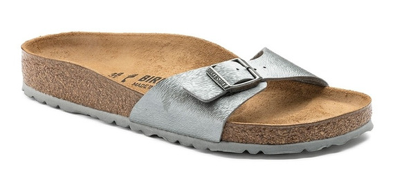 Sandalias Birkenstock Madrid Bf Animal Fascination Gray