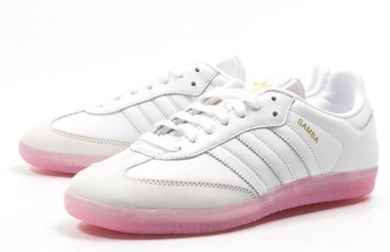 adidas Samba W Suela Rosa