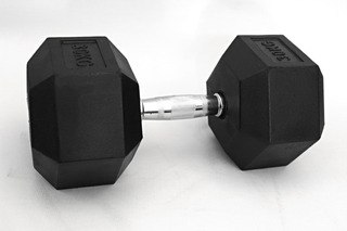 Unidade Dumbbell Hexagonal Crunch 22,5 Kg - Halter