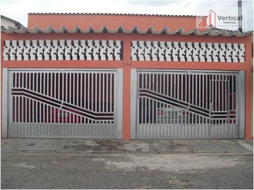 Casa Com 2 Dormitórios À Venda, 134 M² - Vila Industrial - São Paulo/sp - Ca0263