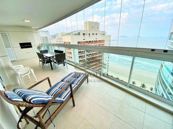 Apartamento Ed Oceano À Venda, 98 M² Por R$ 950.000 - Praia Das Astúrias - Guarujá/sp - Ap1103