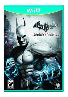 Batman Arkham City Wii U Armored Edition
