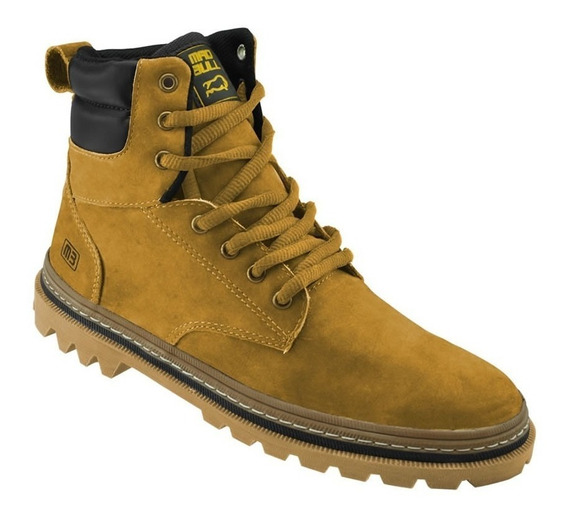 Bota De Camurça Mad Bull Tracker High Amarelo Original