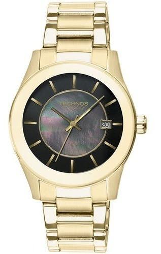 Relógio Technos Dourado St. Moritz 2315hl/4p