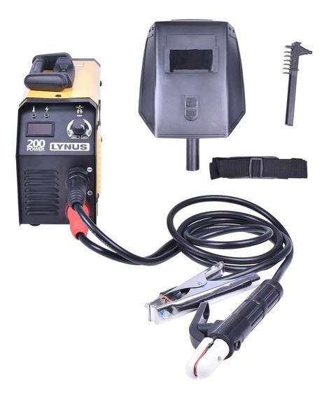 Inversora De Solda Eletrodo 180 A Lis-200 Lynus Bivolt