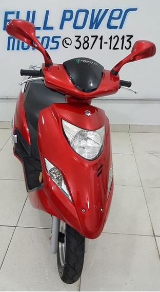 Suzuki Burgman 125i Vermelha 2012/2012