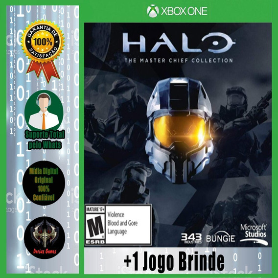 Halo Master Chief Xbox One Midia Digital +1 Jogo Brinde