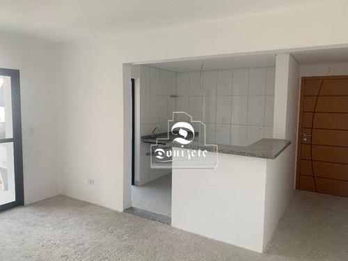 Apartamento Com 3 Dormitórios À Venda, 82 M² Por R$ 609.488,00 - Jardim - Santo André/sp - Ap10732