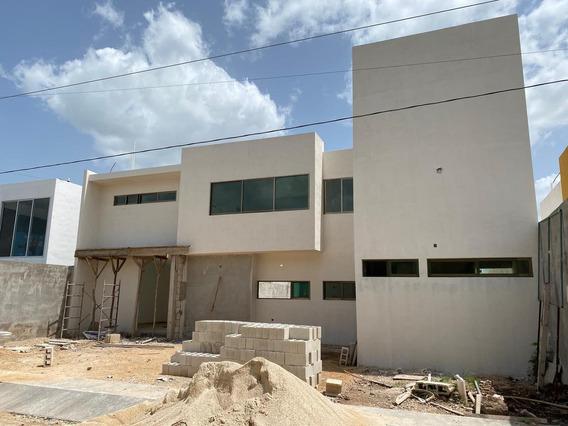 Casa En Venta Al Norte De Mérida 4 Recámaras - San Diego Cutz