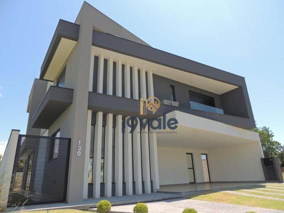 Casa De Luxo À Venda, Vista Privilegiada E Privativa No Jardim Do Golfe, Sjcampos-sp - Ca0981