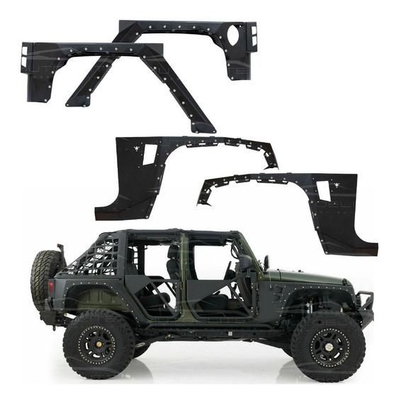 Salpicaderas Cantoneras Jeep Jk Wrangler Armor Crushers