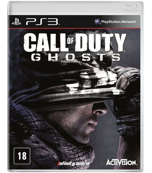 Jogo Call Of Duty Ghosts Ps3 Usado