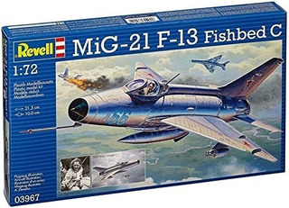 Mig-21 F-13 Fishbed C Revell 03967 - Escala 1/72
