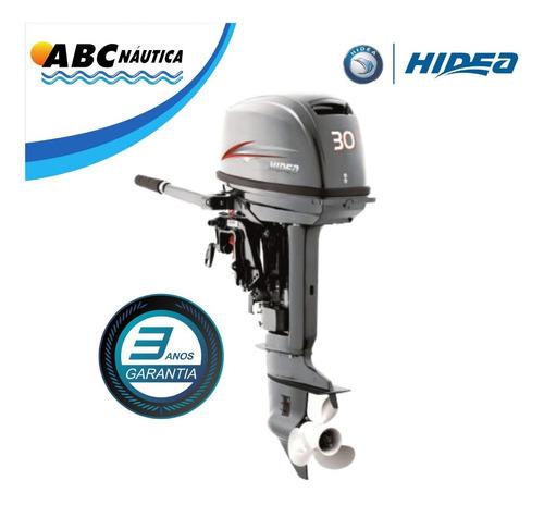 Imagem 1 de 11 de Motor De Popa 30hp Hidea