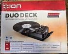 Ion Audio Duo Deck Turntable Cassette Analog To Digital Conv