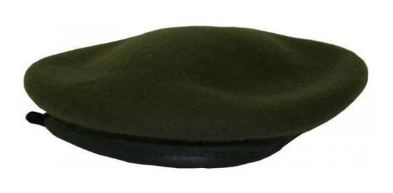 Boina Masculino Francesa Militar Variado Feltro Borda Em Pu