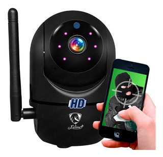 Camara Hd Wifi Ip Rastreo Movimiento Nube Espia Inalambrica Video Espia Seguridad App Robotica 360 Audio Bidireccional