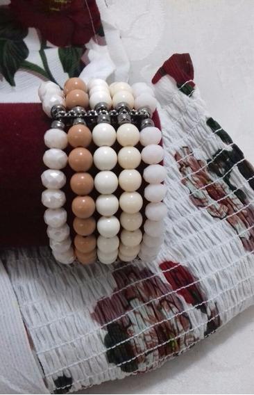 Linda Pulseira Kit Com 5 Pulseiras Combinando As Cores #