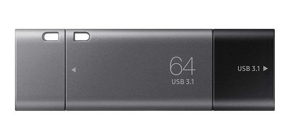 Pen Drive Samsung Duo 64gb Usb 3.1 Usb C Pc E Smartphone