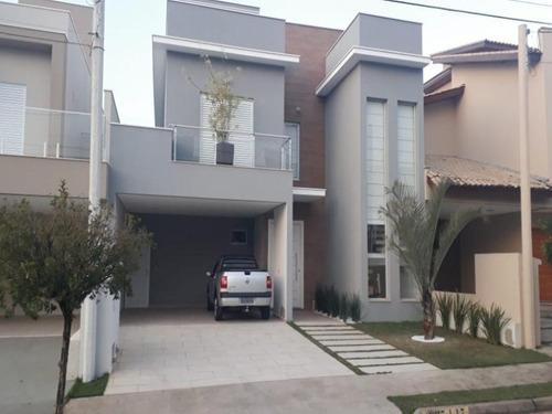 Maravilhoso Sobrado Com 3 Dormitórios À Venda, 250 M² Por R$ 1.100.000 - Condomínio Ibiti Royal Park - Sorocaba/sp - So0145 - 67640873