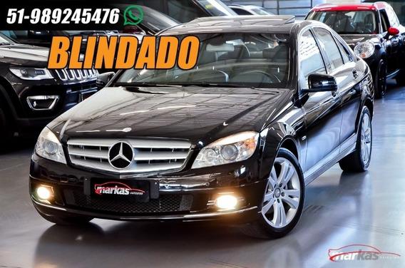 Mercedes-benz Classe C280 3.0 Advantgarde Blindada G5 Teto