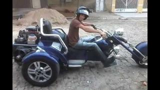 Projeto Triciclo Chopper Envio Email