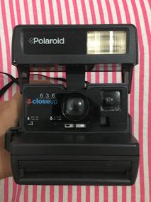 Câmera Polaroid Close-up 636 De 1990 Nova Na Caixa