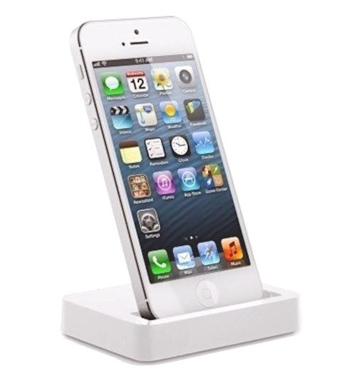 Dock Station iPhone 5 / 5s / 5c Sincroniza Branco