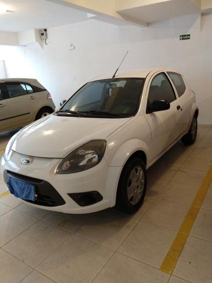 Ford Ka 1,0 Flex 2012 Branco Em Perfeito Estado