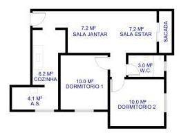 Apartamento Na Vila Lavinia - Loc946502