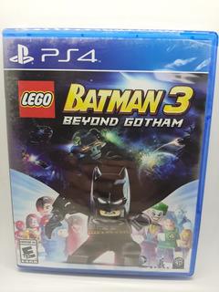 Lego Batman 3 Beyond Gotham Ps4 Nuevo Fisico Envio Gratis