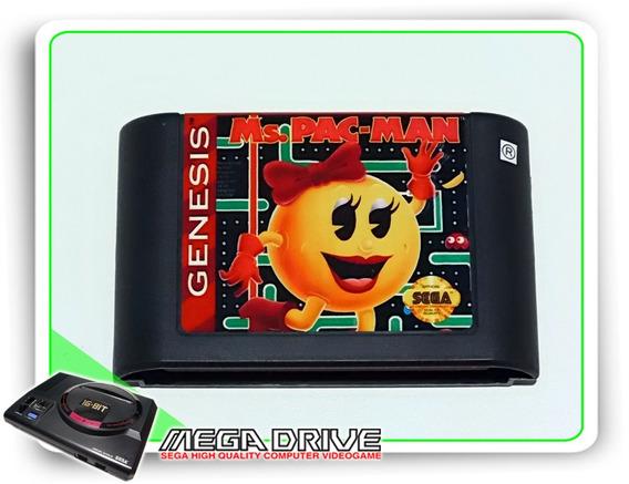 Ms Pac-man Original Sega Genesis - Mega Drive