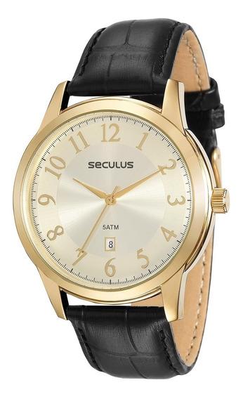 Relógio Seculus Masculino 23597gpsvdc1