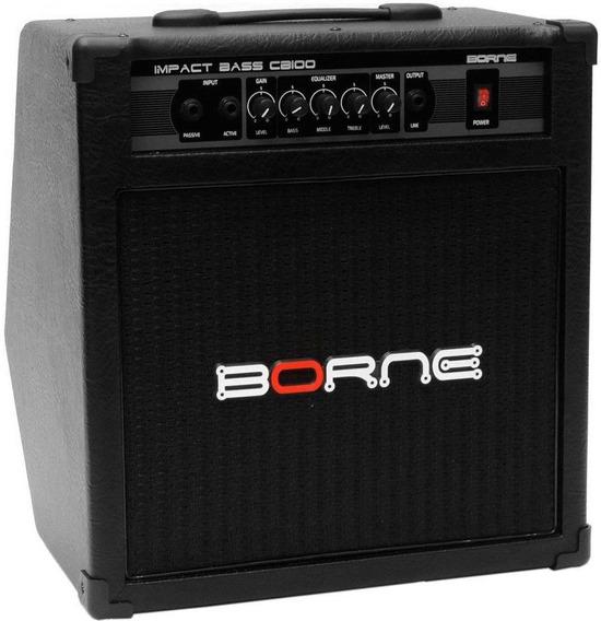 Amplificador Combo Borne Impact Bass Cb100
