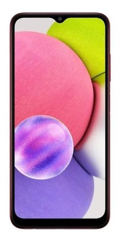 Celular Smartphone Samsung Galaxy A03s A037m 64gb Vermelho - Dual Chip